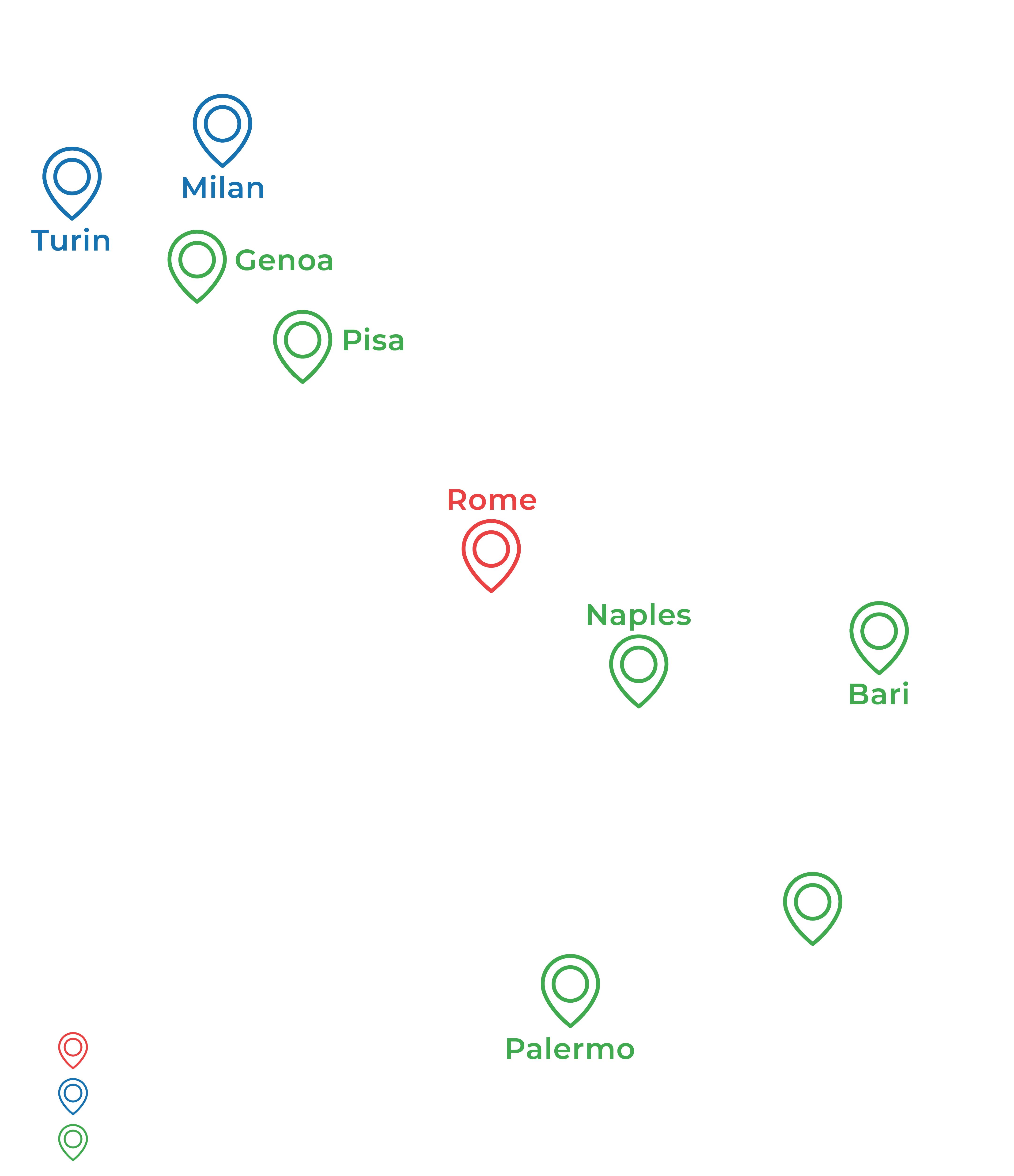 Poliferie in Italy